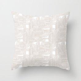Woven Roads Fawn Throw Pillow
