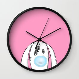 Bubble Gum #2 Wall Clock