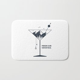 Fresh Air Cocktail Bath Mat