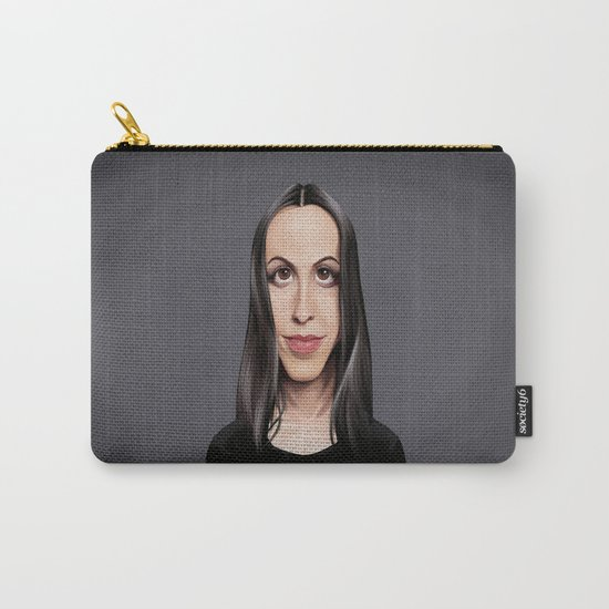 Celebrity Sunday ~ Alanis Morissette Carry-All Pouch