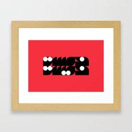Khmsah Khmesah Framed Art Print