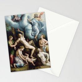 Giulio Romano - The Birth of Bacchus Stationery Cards