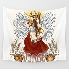 Virgo Wall Tapestry