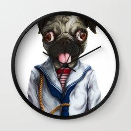 Pug Goyo Wall Clock