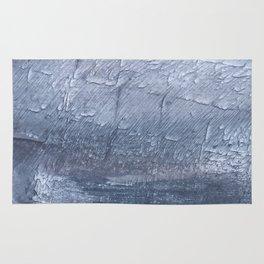 Light slate gray colorful wash drawing design Rug