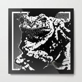 Tree Frog Ink Metal Print