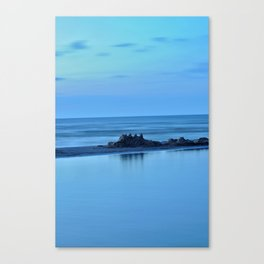 down went the castle Canvas Print