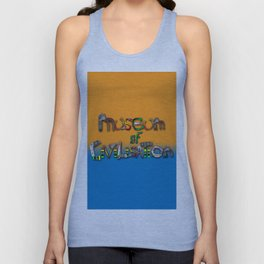 "Museum of Civilization from the book ""Station Eleven"" Unisex Tank Top"