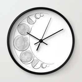 The Lunar Phases Wall Clock