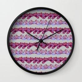 PETAL LINES sm. Wall Clock