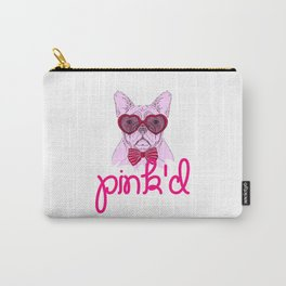 pink'd Carry-All Pouch