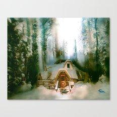 HOBBIT HOUSE Canvas Print