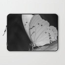 Papillon B/W Laptop Sleeve