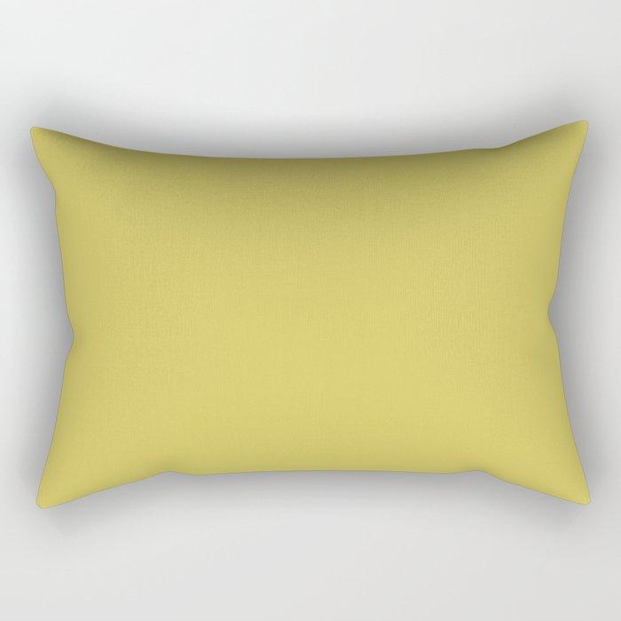 Simply Mod Yellow Rectangular Pillow