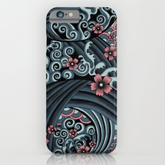 waves of tradition-blue Slim Case iPhone 6s