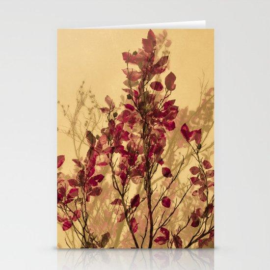 autumn symphonies VI Stationery Cards