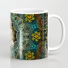 Shakyamuni Buddha - Enlightenment, Peace and Happiness Coffee Mug