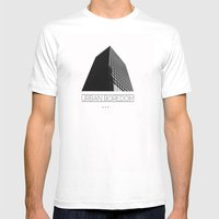urbane  MEDIUM Mens Fitted Tee White