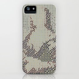 Digital expressionism 012 iPhone Case