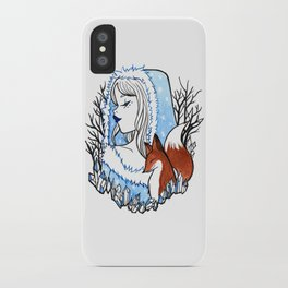 Winter Witch iPhone Case