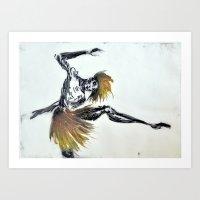 the Dancer - part 2 Art Print