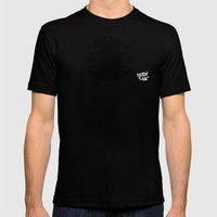 A Template for Your Imagination MEDIUM Mens Fitted Tee Black