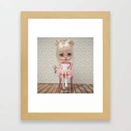 Ana Erregiro Blythe doll Framed Art Print
