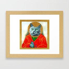 Saint Felis Framed Art Print