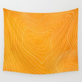 Pikes Peak Topography Wall Tapestry