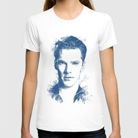 benedict T-shirts featuring Benedict Cumberbatch by Chadlonius