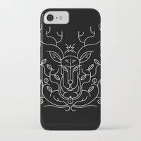 reindeer iPhone & iPod Cases featuring Reindeer by Marco Recuero