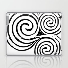 Newgrange Celtic Triskelion Laptop & iPad Skin