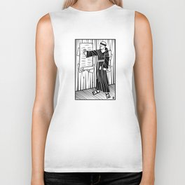 The 95 Theses Biker Tank