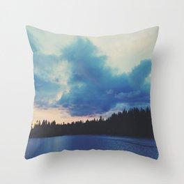 Stanley Park Sunset Throw Pillow