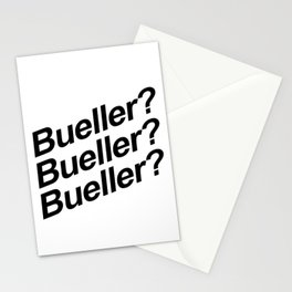 Bueller? Stationery Cards