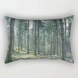 The pines forêt Rectangular Pillow