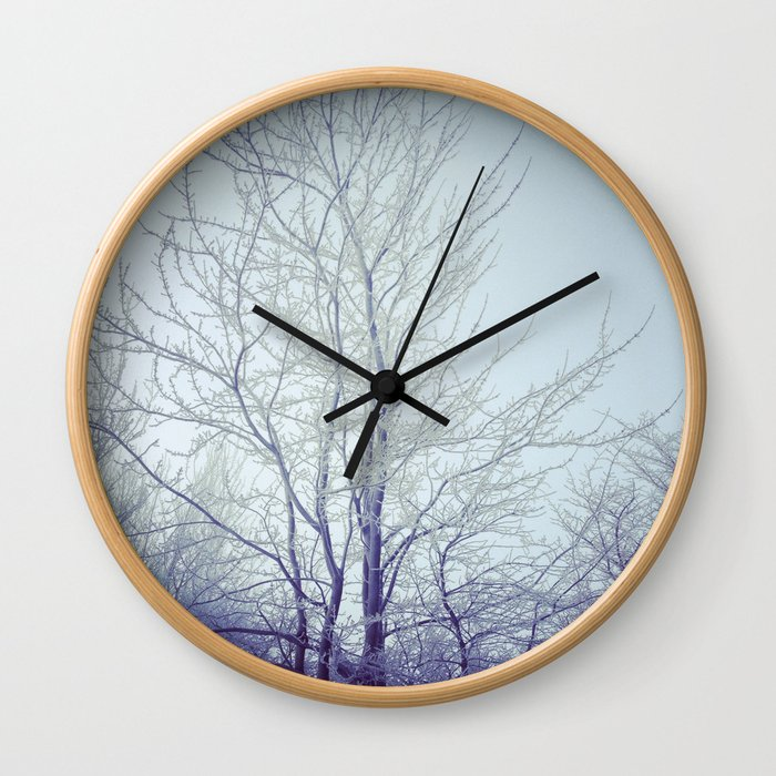 Another winter shot Wall Clock