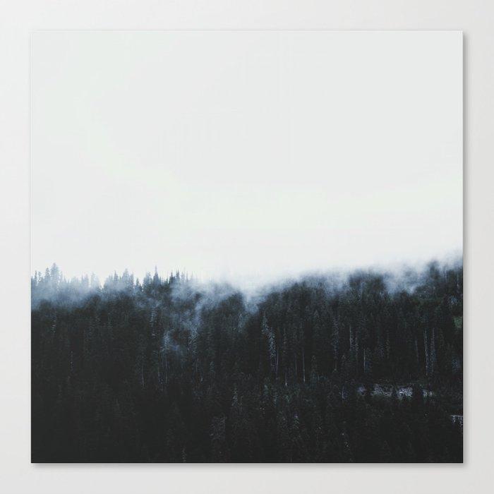 Haunting love Canvas Print