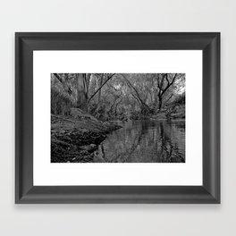 Wooded  Framed Art Print