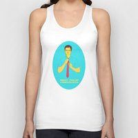 gravity Tank Tops featuring Gravity by Pulvis
