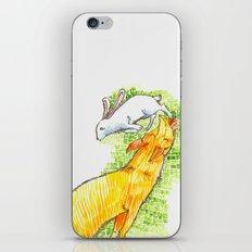 Fox Chasing Rabbit iPhone & iPod Skin