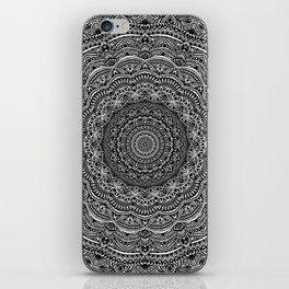 Zen Black and white mandala Sophisticated ornament iPhone Skin