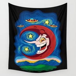 Hilda Berg - Starry Night Wall Tapestry