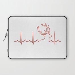 HUNTING HEARTBEAT Laptop Sleeve