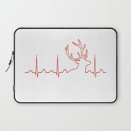 HUNTING HEARTBEAT Laptop Sleeve
