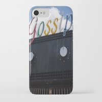 gossip girl iPhone & iPod Cases featuring Gossip by Claire Elizabeth Stringer