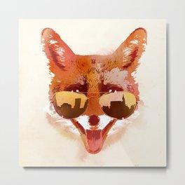 Big Town Fox Metal Print