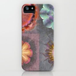 Absenters Intermixture Flower  ID:16165-065456-80170 iPhone Case