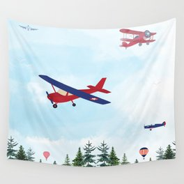 Flying High Wall Tapestry