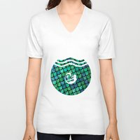 scales V-neck T-shirts featuring Scales by MeltingMiltons